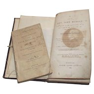 First Edition 1832 The Life of Rev John Murray also includes the Four Evangelists Published in 1831 Included are Sermons from As Early as 1813