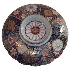 Vintage Imari Pedestal Plate