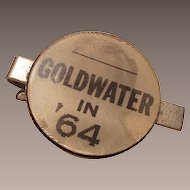Vintage Barry Goldwater 1964  Flicker Tie Clip