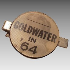 Vintage Barry Goldwater 1964  Flicker Tie Clip