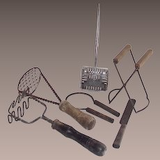 Vintage 1920's Mixed Kitchen Tool Collection