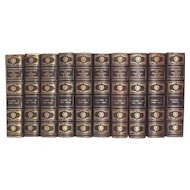 Vintage First Edition Messages and Papers U.S. Presidents 1789-1897 compiled by James D. Richardson 10 Volumes 1900