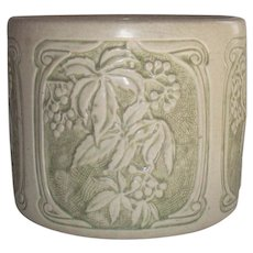 Weller Roma Jardiniere 1920s with Arts and Crafts MacKintosh Style Lines