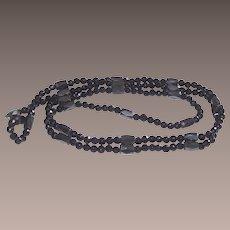 Magnetized Hematite Wrap Bracelet or Necklace
