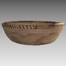 Vintage African Botswana Grain Basket
