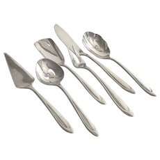 Vintage Meriden First Lady Silver Plate Hostess 6 Piece Set  1960