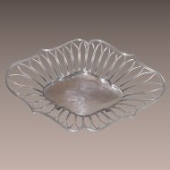Victorian Mappin and Webb Silver Fruit Bowl 1897