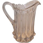 Victorian EAPG Paneled Water Pitcher 3 Piece Mold