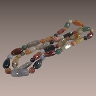 Multi Gemstone Agate Necklace