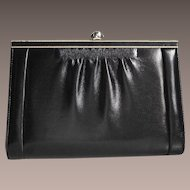 El Conte Ingles Spanish Designer Leather Handbag Clutch