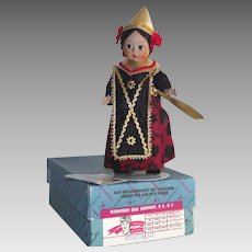 "Madame Alexander 8"" Indonesia Doll #579 with Box"