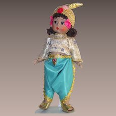 "Madame Alexander 7 3/4"" Thailand Doll #567 with Box"