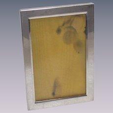 Vintage Sterling Sliver Picture Frame