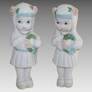 Frozen Charlotte Japanese Little Girl Confirmation Doll