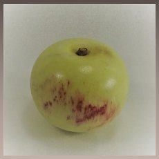 Italian Stone Apple Marble with OLD Label