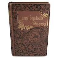 The Poetical Works of Jean Ingelow Including The Shepherd Lady First Edition 1863