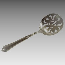 Sterling Silver Tomato Server with Sterling Handle