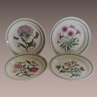 Portmeirion Botanic Garden Salad Plates set of 4