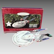 Vintage 1998 Star Trek First Contact USS Enterprise NC-1701-E Hallmark
