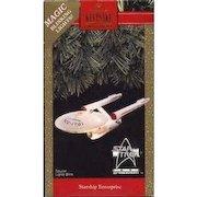 Vintage Star Trek 1991 Starship Enterprise First in Series NCC-1701 Hallmark Keepsake