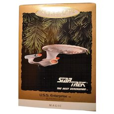 Vintage Star Trek USS Enterprise Magic Blinking Light 1993
