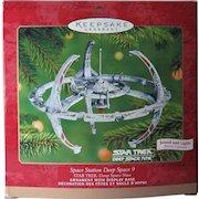 Vintage 2001 Star Trek Space Station Deep Space 9 Lights