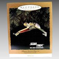 Vintage Star Trek Klingon Bird of Prey with Flickering Lights 1994