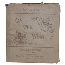"Victorian Small Book  ""On The Wing""  Scripture Text for Each Day of The Month"