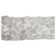 Vintage Edwardian Bridal Lace Yardage 90 Inches Long
