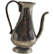 Vintage Sterling Doll Coffee Pot for a Tea Set