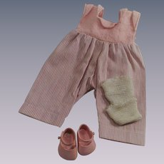 Vogue Ginny Doll Pink Peddle Pusher Sun Suit with Matching Shoes
