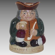 "Vintage Royal Doulton English Toby Jug ""Honest Measure"""