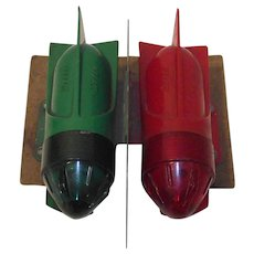 Delta Rocket Torpedo Turn Signal Lights Mid Century