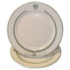 Vintage New Hampshire Hotel Dinner Plate Spalding Inn, Whitefield