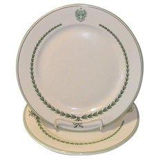 Vintage New Hampshire Hotel Dinner Plate Spalding Inn, Whitefield