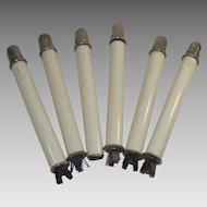 Vintage Candle Stick Spring Loaded Push up Holders