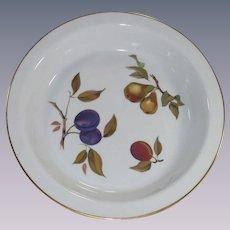 Vintage Royal Worcester Evesham Pie Baking Dish Pie Plate  SOLD to Fait...