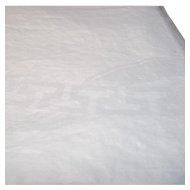Damask White Table Cloth Greek Key Pattern