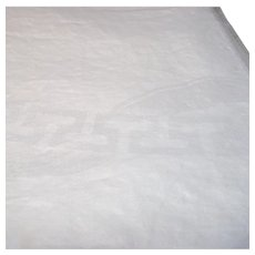 Damask White Table Cloth Greek Key Pattern
