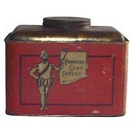 Vintage Coffee Tin Ponce de Leon circa 1900