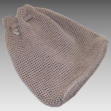 Vintage Sak Crochet Backpack in Dark Cream