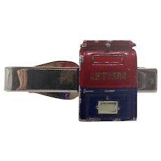Vintage  US. Postal Letter Box Tie Clip