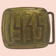 Vintage Hickok 1935 Belt Buckle