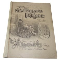 1888 Magazine The New England Fireside April 1888