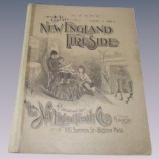 1888 Magazine The New England Fireside April 1888