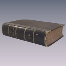 1866 Godey's Lady's Book Complete