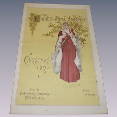 The Ladies Home Journal Christmas 1890 Replicraft Edition from 1980s