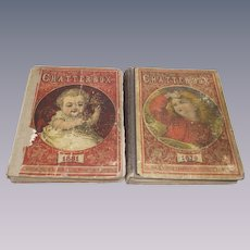 1879 and 1881 Childs Books Chatterbox