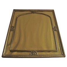 Vintage 1940's Filigree Picture Frame Table Top