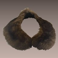 Vintage Mink Collar for Sweater Ladies 1960s